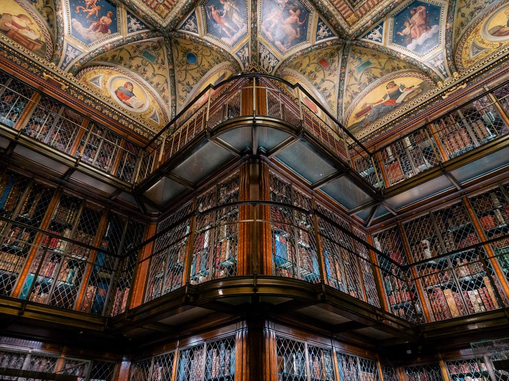 Pierpont Morgan Library Steel Institute Of New York