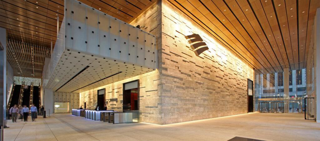 One Bryant Park Lobby Steel Institute Of New York