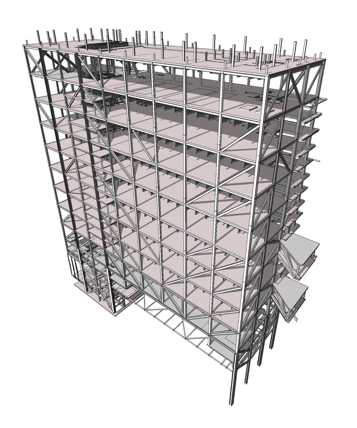 Columbia University Northwest Corner Building Structure