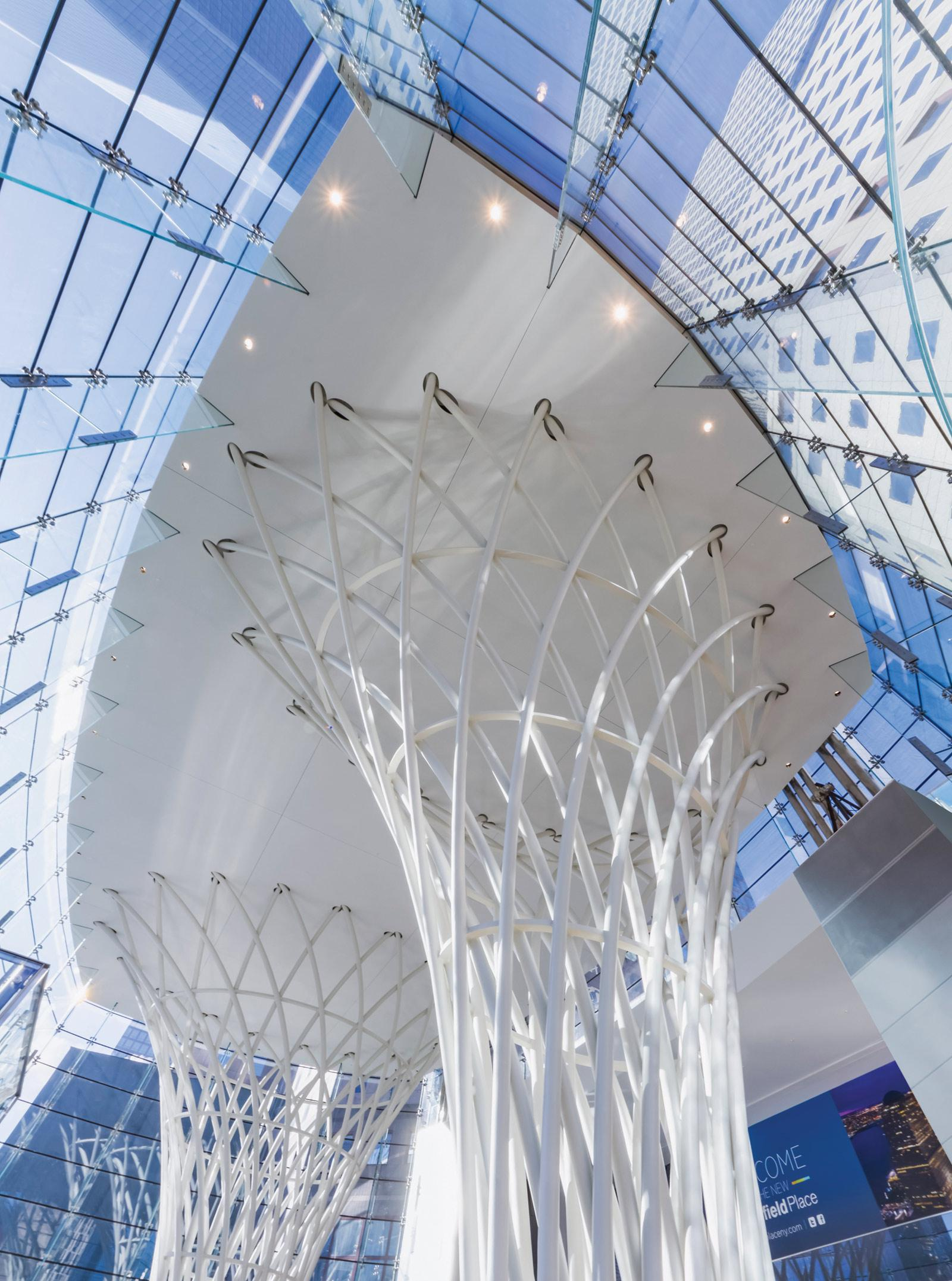 Pavilion At Brookfield Place Steel Institute Of New York