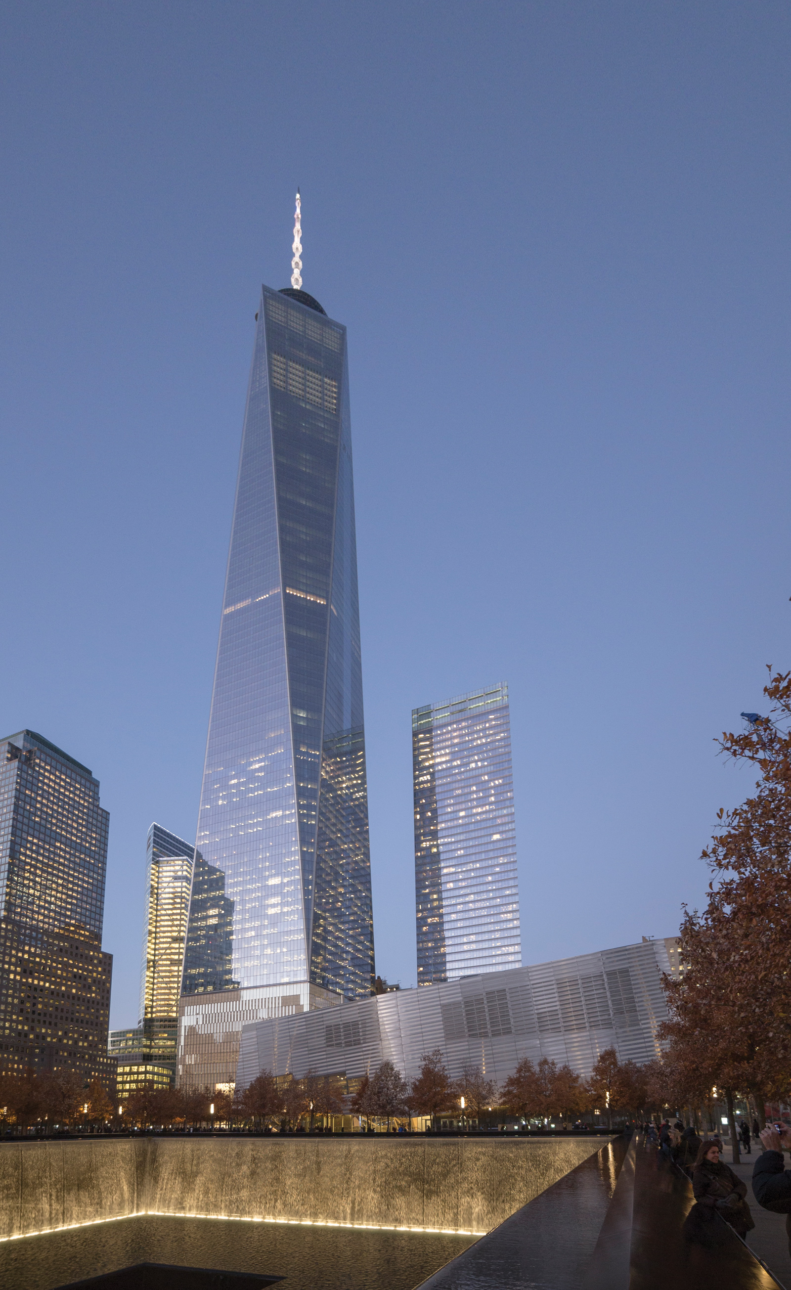 one world trade center facade