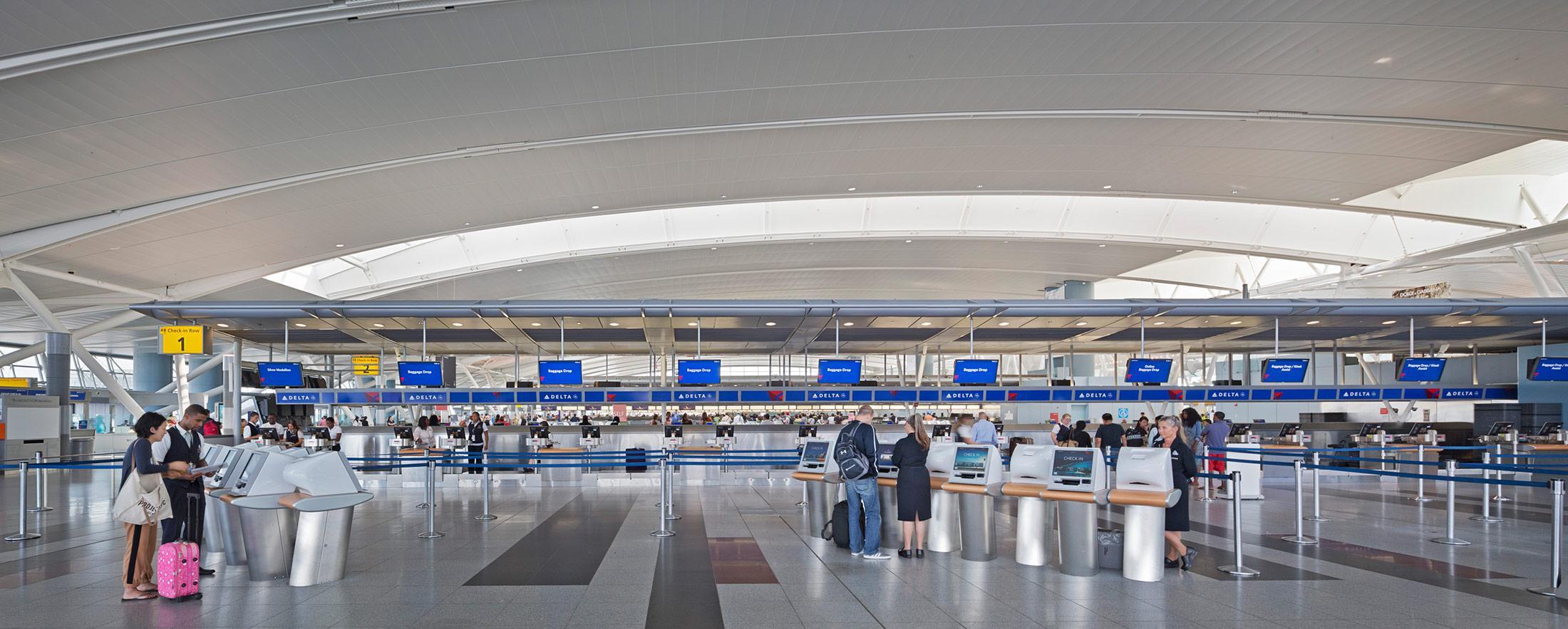 John F Kennedy International Airport Terminal 4 Steel