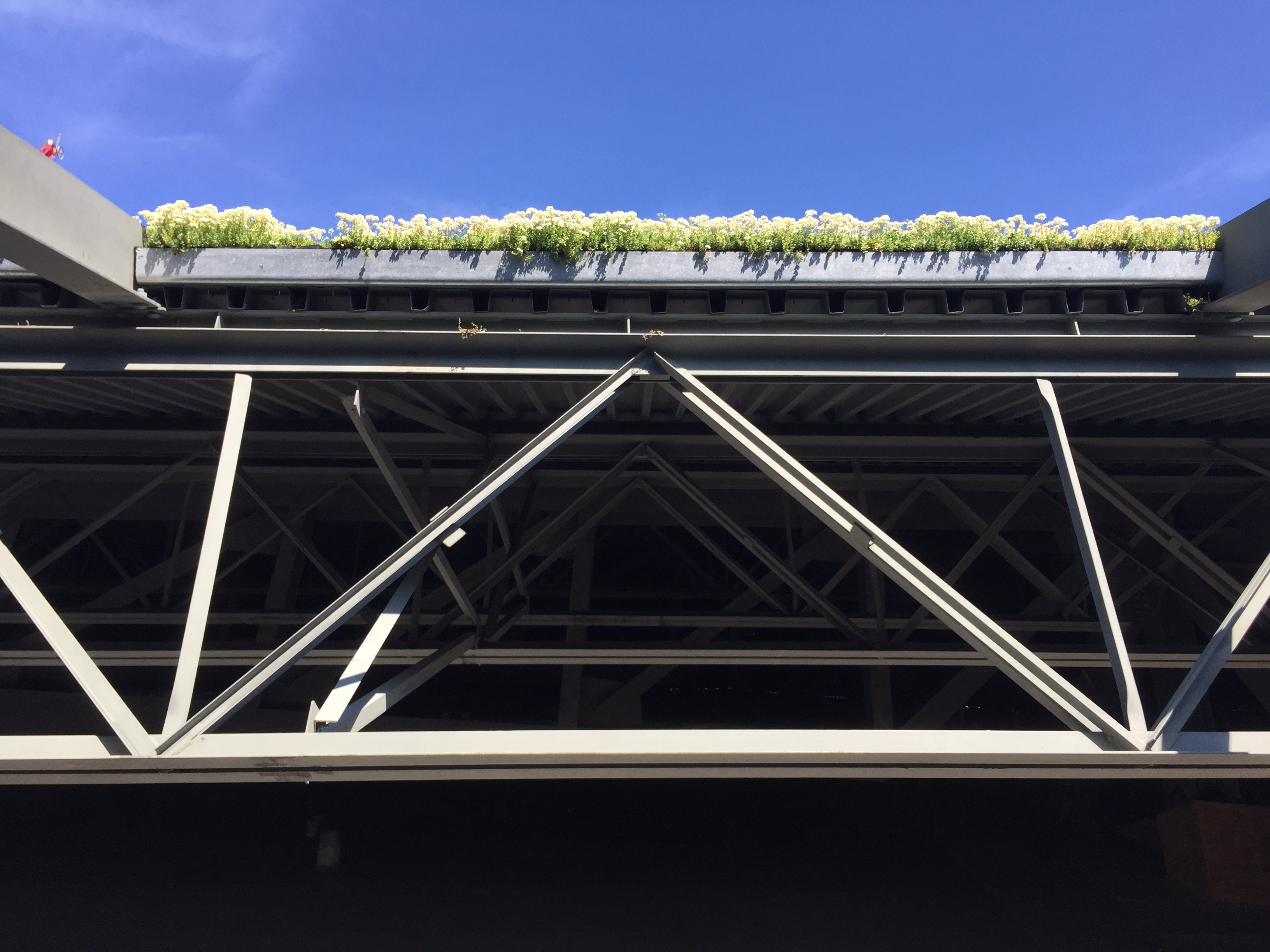 Barclays Center Green Roof Steel Institute Of New York