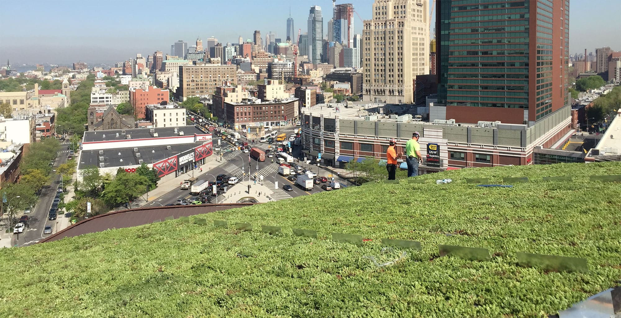 barclays center green roof