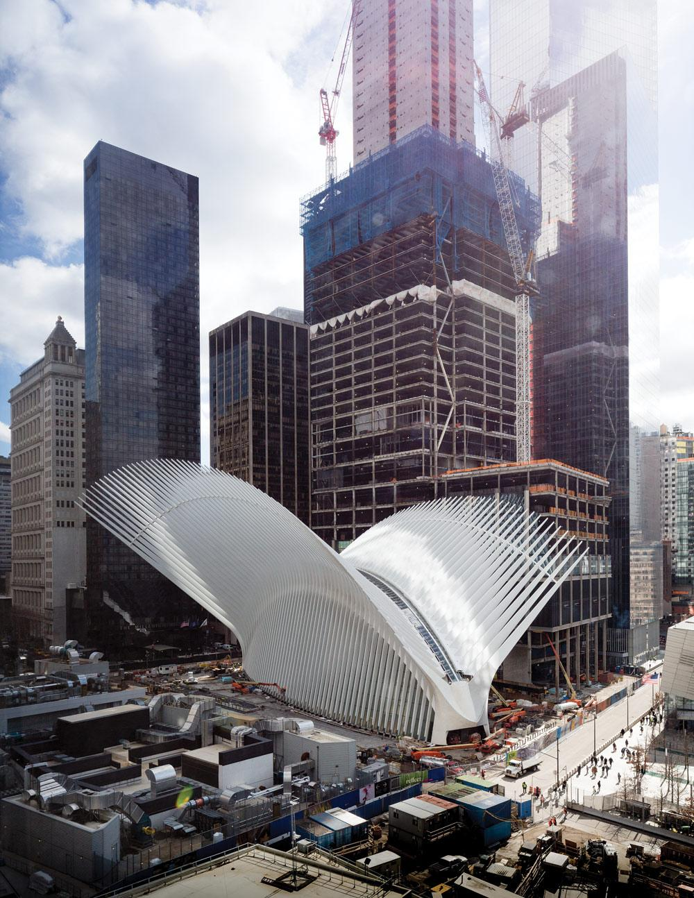 World Trade Center Transportation Hub Steel Institute Of